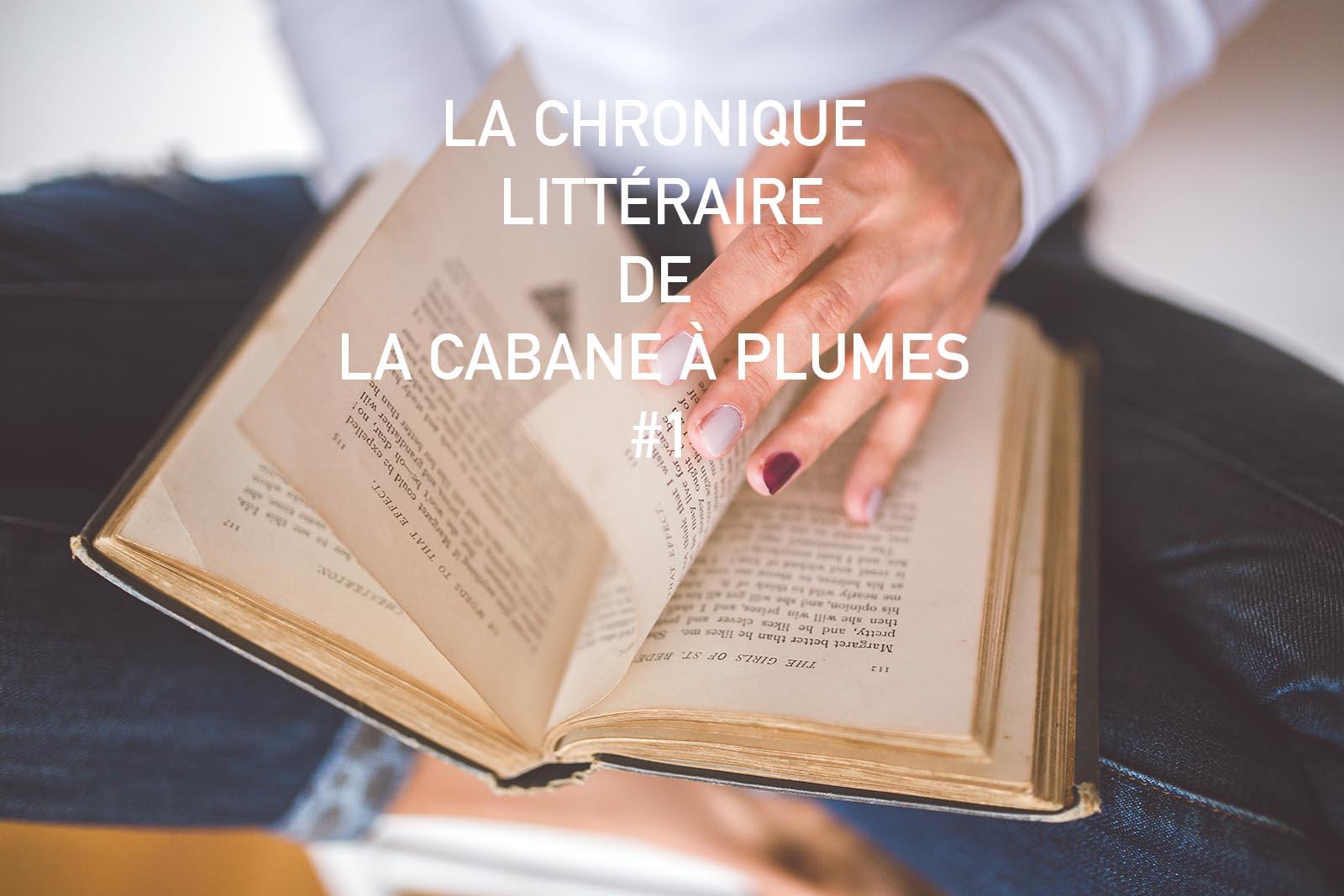 Chronique littéraire #1