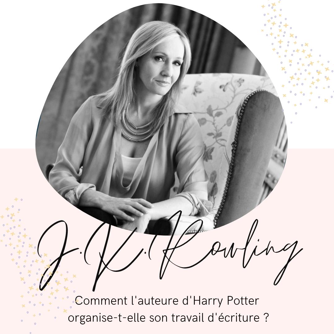 J.K. Rowling, elle aussi, a fait un plan !
