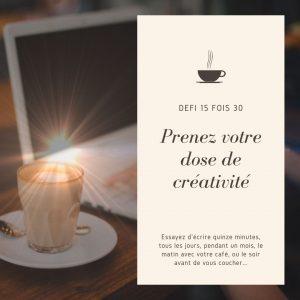 Read more about the article Défi 15 fois 30
